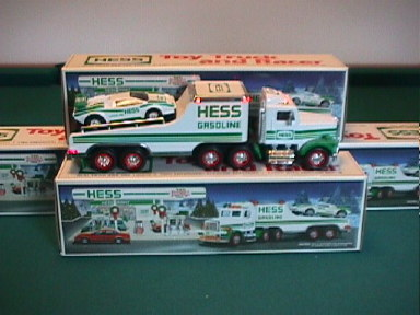 1991 Hess Truck and Racer