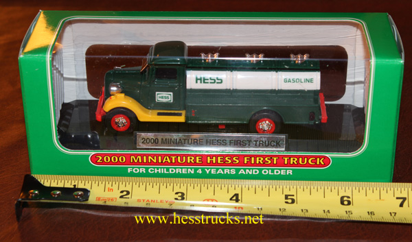"2000 Hess Miniature ""First Hess Truck"""