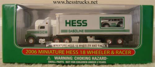 2006 Hess Miniature Truck & Racer