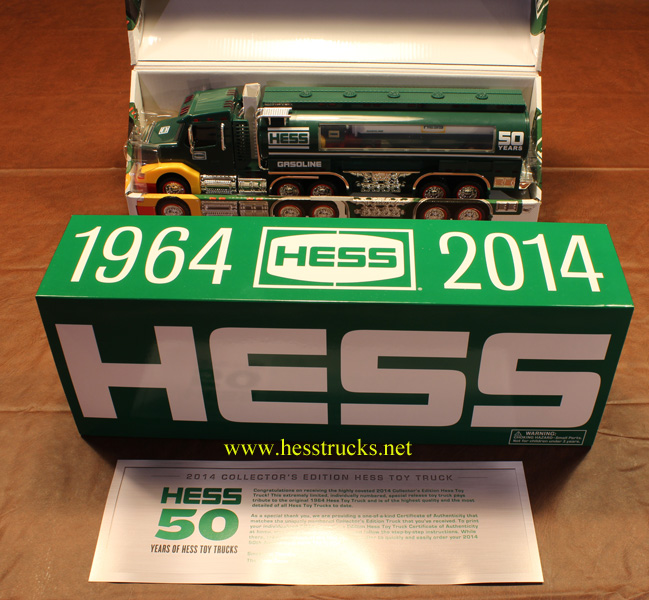 2014 Hess Collectors Edition Truck