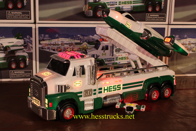 2014 Hess Truck and Space Cruiser