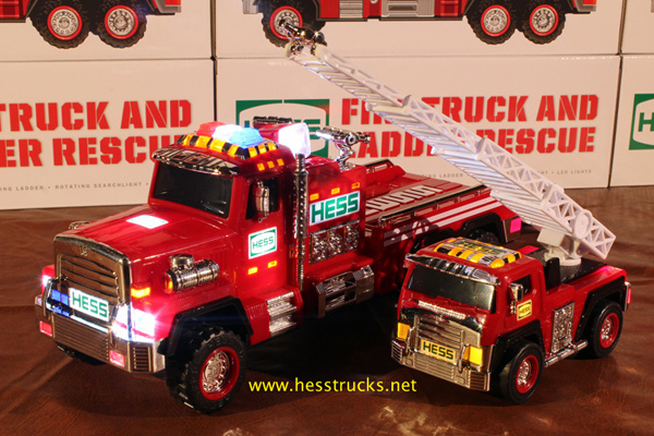 2015 HESS Fire Truck and Ladder Rescue