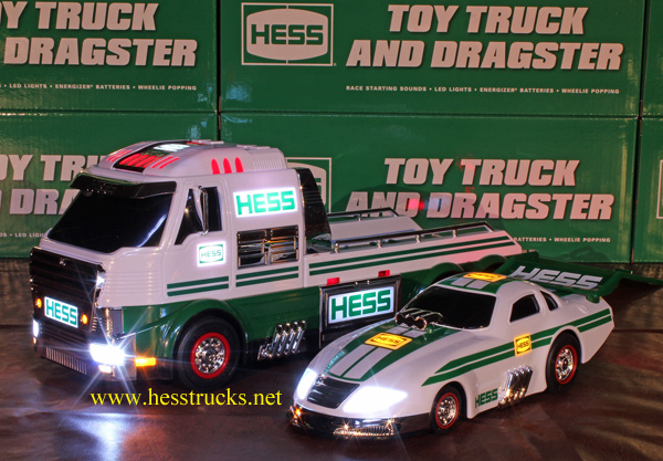 2016 Hess Truck and Dragster